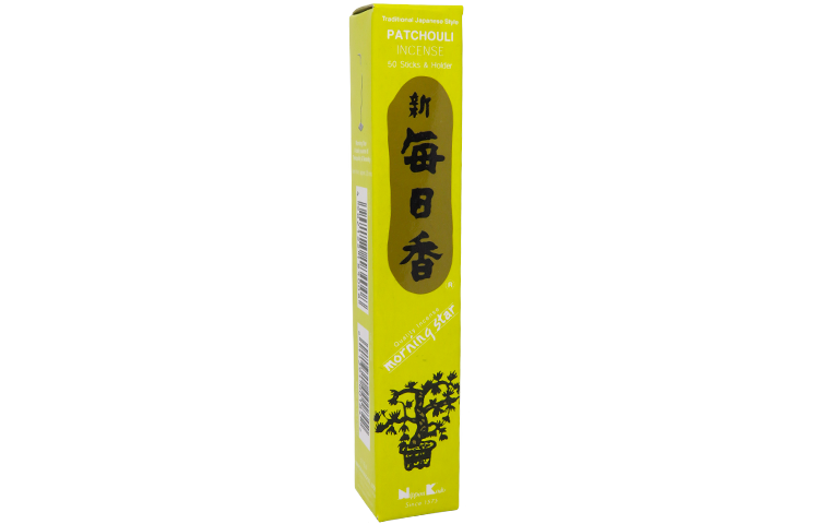 PATCHOULI - MORNING STAR INCENSO GIAPPONESE